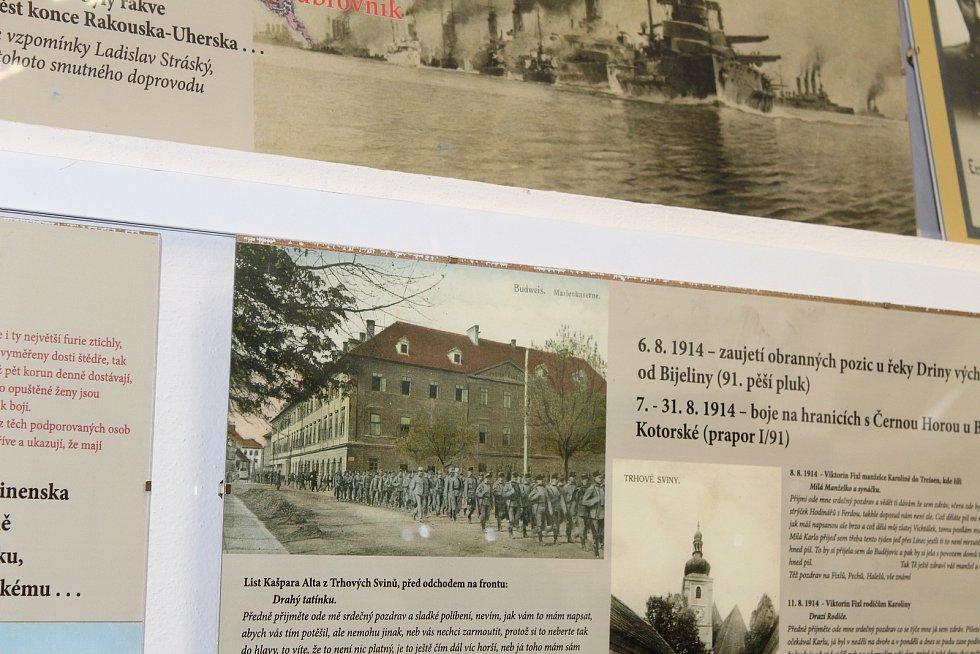 V Trhových Svinech byla 30. listopadu 2018 představena poštovní známka s portrétem JUDr. Emila Háchy, který z města pocházel. V kulturním a informačním centru, kde se akce konala, je nyní výstava k 1. světové válce.