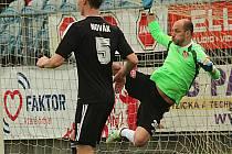 Národní fotbalová liga pokračovala zápasem Dynamo České Budšjovice-Sigma Olomouc