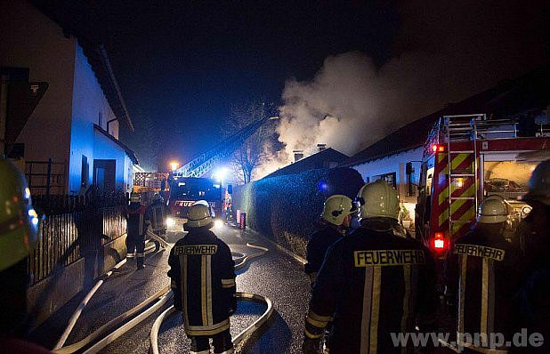 Požár v Neuhafnu.