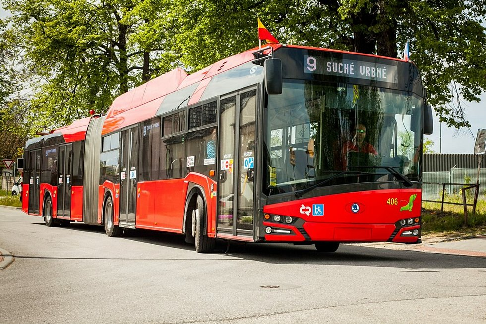 Trolejbusy v Českých Budějovicích.