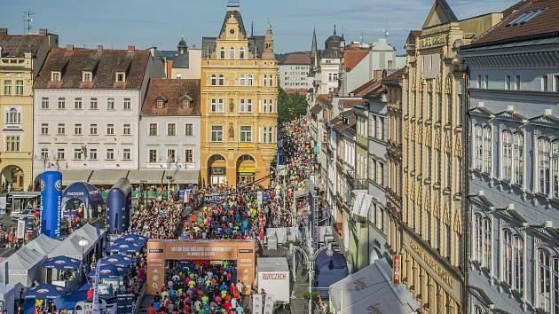 V sobotu odstartuje na náměstí Přemysla Otakara II. Mattoni 1/2Maraton České Budějovice.