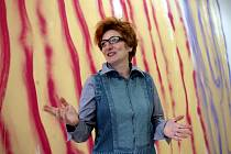 Kresby výtvarnice Renée Levi působí velmi  senzitivním dojmem.