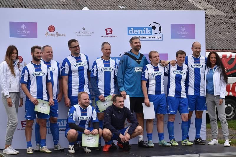 V úterý se v Českých Budějovicích uskutečnilo okresní kolo 2. ročníku Zaměstnanecké ligy Deníku. Zúčastnil se i tým společnosti Madeta, který skončil na pátém místě.