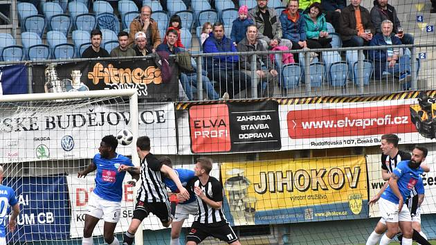Ve 23. kole II. ligy fotbalisté Dynama vyhráli s Táborskem 3:0