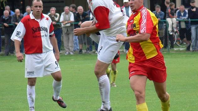 Slavia Č. Budějovice se doma rozešla na závěr sezony s Kamenným Újezdem smírně 3:3.