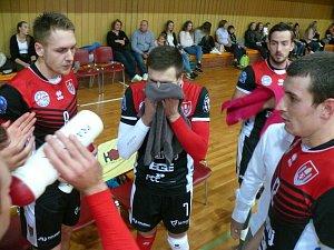 Jihostroj v extralize volejbalstů přivítal Brno. Skvěle se uvedl Polák Halaba