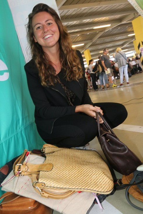 Na Kabelkový veletrh Deníku si svou novou kabelku našla Blanka Nováková.