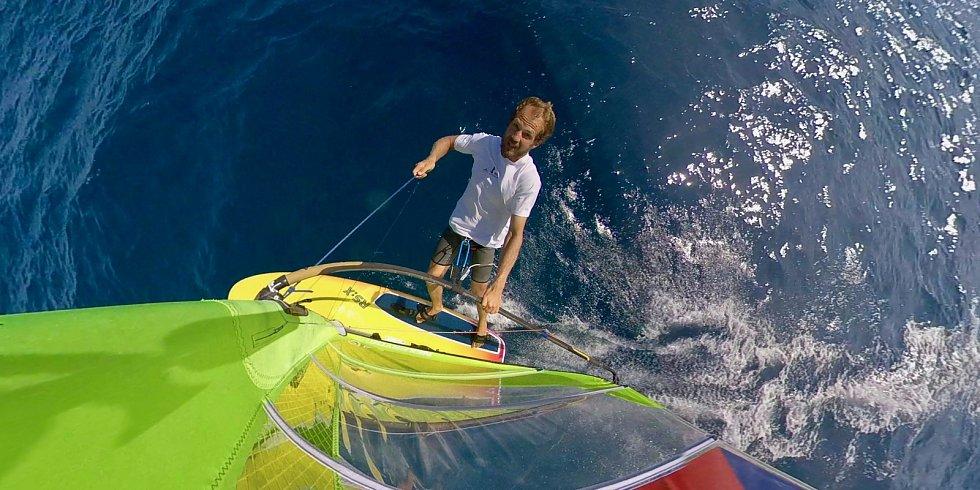 Karel Lavický je nejlepším windsurferem v ČR