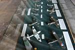 Výstava na letišti v Plané.