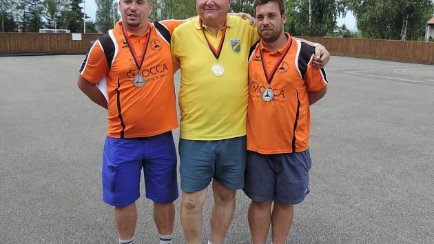 Medailisté z MČR v metané na asfaltu