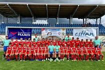První turnus letošní jihočeské Letní fotbalové školy v Třeboni.