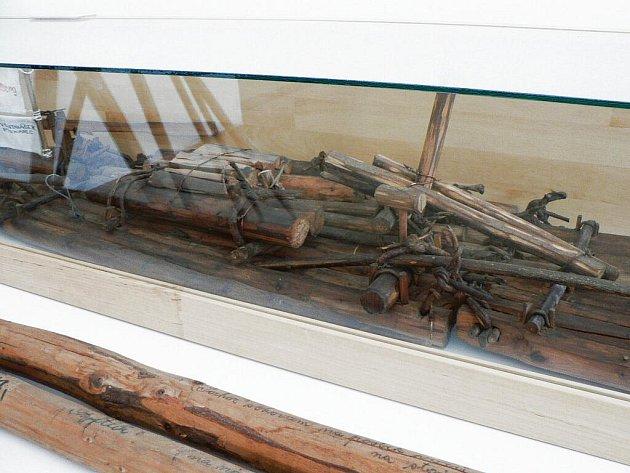 Expozice v Muzeu voroplavby seznamuje návštěvníky s dějinami a tradicemi vorařství v Purkarci a okolních osadách.