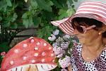 Selfie s houbou nám poslala Marie Kovářová z Lažánek u Blatné.