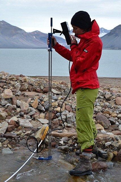 Expedice Jihočeské univerzity v Arktidě.