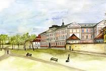 Kdyby se plán na zasypání říčního koryta stal realitou, mohl být místo Slepého ramene městský park.