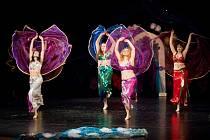 Orientální tance v podání Studia Farha, kapela Ekvator a další program začne v sobotu v 19 h v Malém divadle U Kapličky.