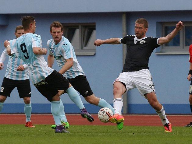 Richard Kalod v Ústí dva góly dal, na třetí přihrál. Byl mužem zápasu.