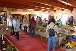 Tradiční výstava chryzantém, ovoce a zeleniny na tvrzi Žumberk.