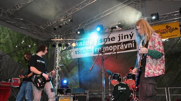 Kapela No Rock - vítězové Kam-Paň-Songu