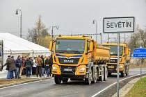 Ve středu 20. 11. 2019 byla uvedena do provozu 2. etapa obchvatu Ševětína.