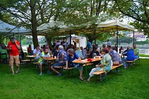 Festival minipivovarů v Týně nad Vltavou.