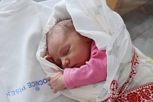Natálie Pavlíková, Volary. Narodila se ve středu 10. února v 19 hodin a 9 minut v písecké porodnici. Vážila 3500 gramů a měřila 50 cm. Rodiče: Adéla Jurištová a Marek Pavlík.
