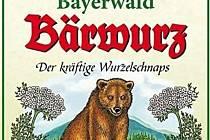 Etiketa produktu z Bavorského lesa.