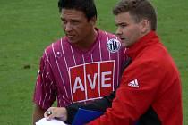 """Martin Frantík si vyzkoušel, jaké to je mít na lavičce hlavní slovo. Koučoval Dynamo """"19"""" doma proti Bohemians a ve Zlíně."""
