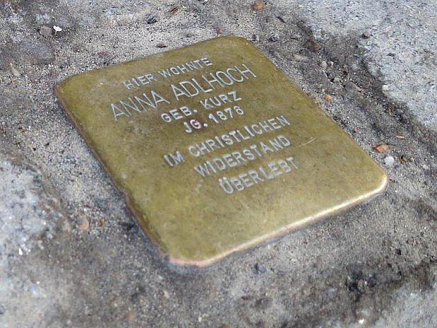 Kpamátce zavražděných nacisty.