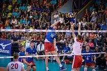 Vladimír Sobotka hrával v Jihostroji, teď blokuje v národním týmu.