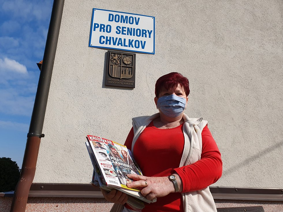 Miloslava Šuplerová aktivizační pracovnice, Domov pro seniory Chvalkov