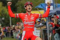 Martin Bína z Budvaru Tábor, čtvrtý z mistrovství světa v cyklokrosu, byl v pondělí v anketě Deníku jižní Čechy vyhlášen nejlepším jihočským sportovcem roku.