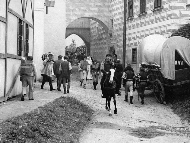Film Faust a Markéta vznikal na jihu Čech.