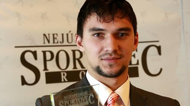 Jakub Kovář se stal podruhé za sebou jihočeským Sportovcem roku.
