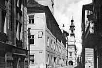 Biskupská ulice v roce 1952.