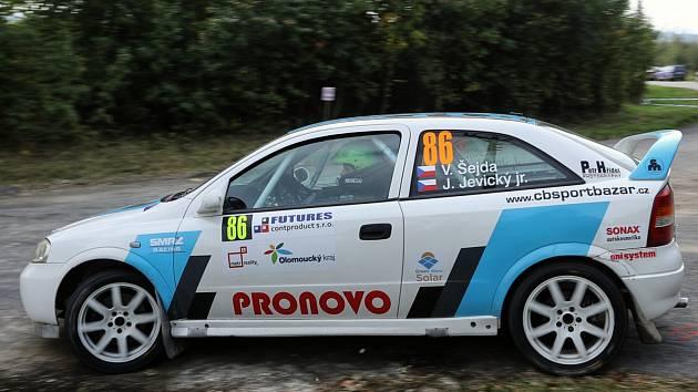 Václav Šejda s Jiřím Jevickým se těší na sobotní rallysprint ve Fulneku.