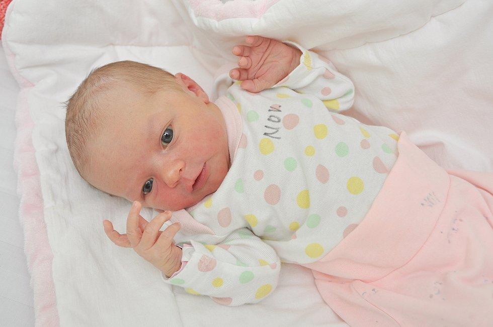 Nela Sofia Bosnyaková ze Zdíkova. Rodiče Jitka a Marián se těší z narození dcery, která přišla na svět 21. 7. 2021 v 0.38 hodin. Při narození vážila 3030 g a doma se na ni těšil bratr Pepa (13).