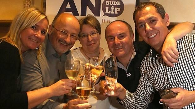 Vítězové komunálních voleb v Českých Budějovicích - kandidáti ANO 2011.
