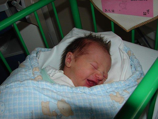 Michaela  Radová, České Budějovice, 21. 1. 2008 ve 22.55 h, 3,14 kg