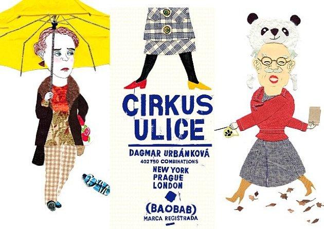 Kniha Cirkus ulice znakladatelství Baobab.