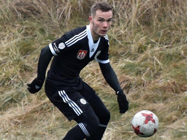 Jan Vondra dal proti Žižkovu svůj první gól v Dynamu.