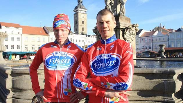 Jan Nesvadba (vlevo) a Petr Dlask v Č. Budějovicích