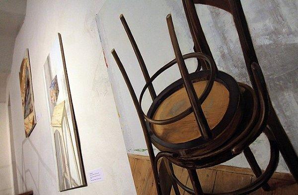 Pocta Jiřímu Kolářovi vEgon Schiele Art Centru vČeském Krumlově.
