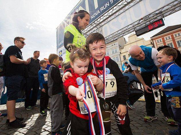 Organizátoři navýšili kapacitu závodu na 1500 běžců. Pouze děti mají kapacitu neomezenou.
