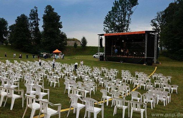 Zde se měl koncert 69.Evropských týdnů vPasově na Veste Oberhaus konat.