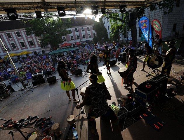 Festival Okolo Třeboně 2014, jehož hlavní hvězdou byla skupina Kryštof.