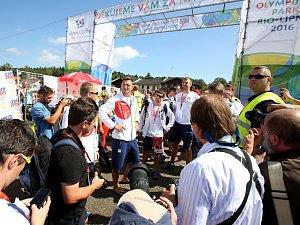Olympijští medailisté přijeli za fanoušky do Ria - Lipna