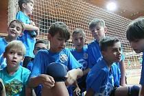 Minivolejbal ve Sportovní hale v Českých Budějovicích