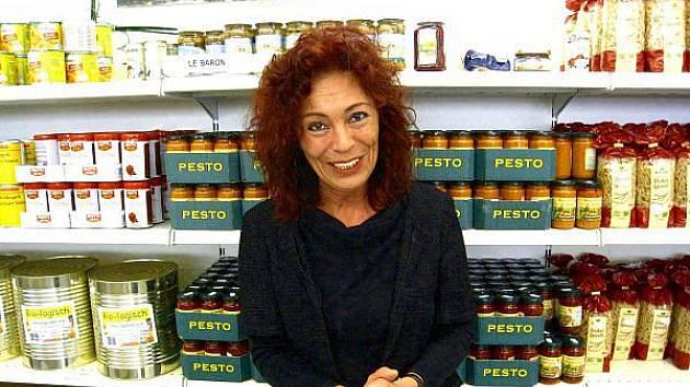 Inge Jachsová je prý ráda, když vidí zákazníky Somy při odchodu se usmívat.