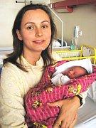 Ema Jílková, České Budějovice, 30. 9. 2008 ve 3.15 h, 3,25 kg
